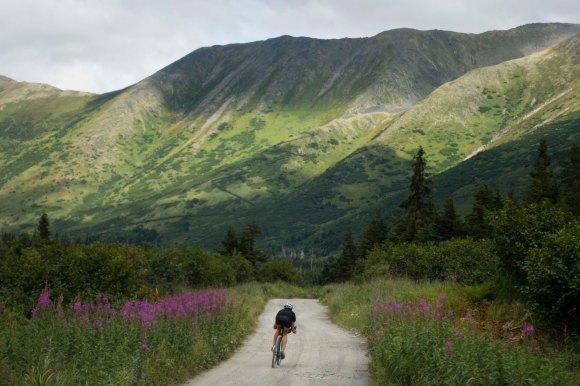 Lael Rides Alaska, Lael Wilcox, Hope, Palmer Creek Road, Alaska